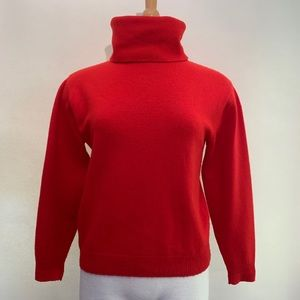 Super soft vintage Pendleton red angora sweater